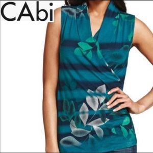 CAbi Crossover Sleeveless Top